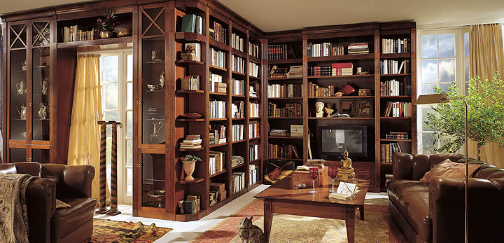 The Attic Full-room-library