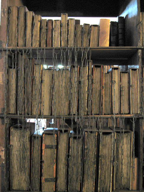 Hereford Cathederal Chained Books
