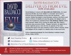 Get your copy of Deliver Us From Evil by David Baldacci