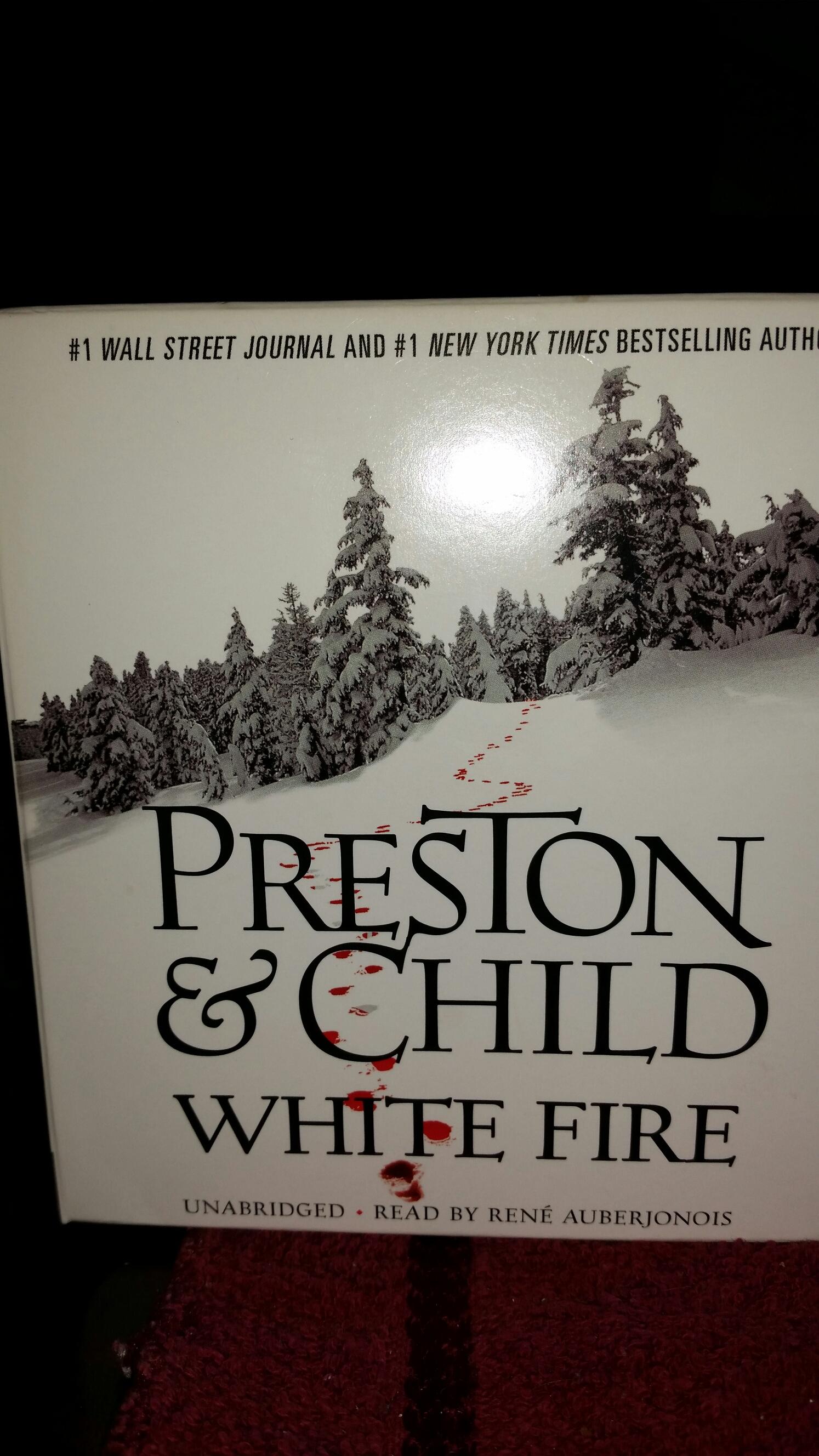 White Fire by Preston & Child | RJ\'s Views